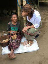 Eating betel nut