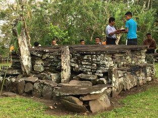 Tubu Kanga - the sacred grave of chiefs